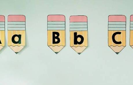 These Pencil Alphabet Printables are Perfect for Bulletin Boards and More