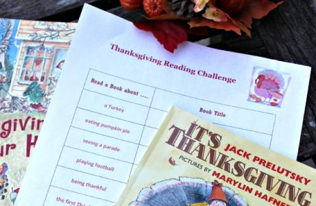 Thanksgiving Books Reading Challenge