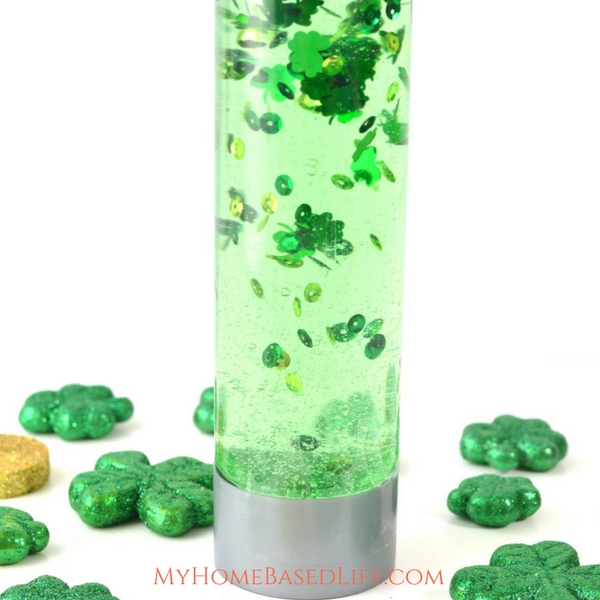st. patrick's day sensory bottle