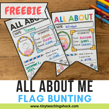 Decorate the Classroom with About Me Buntings