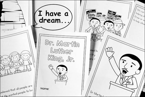 Download Printable Books About Martin Luther King Jr. – Lesson Plans