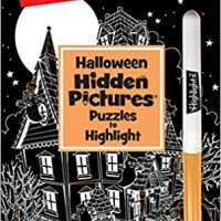 Book Review - Halloween Hidden Pictures