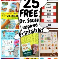 Printable Activities for Dr. Seuss Books