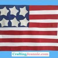 Easy American Flag Craft