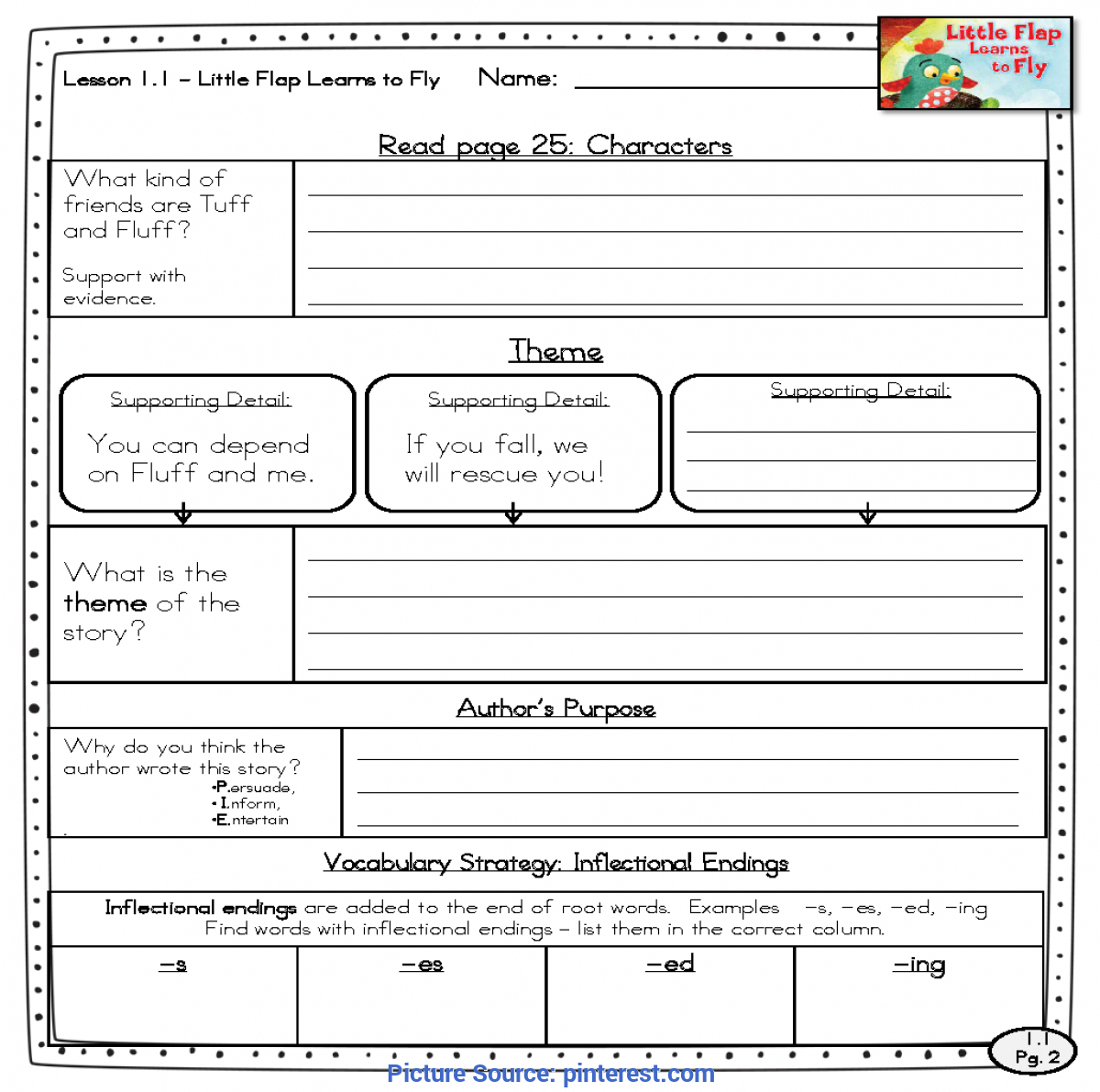 1st Grade Lesson Plans For Reading
