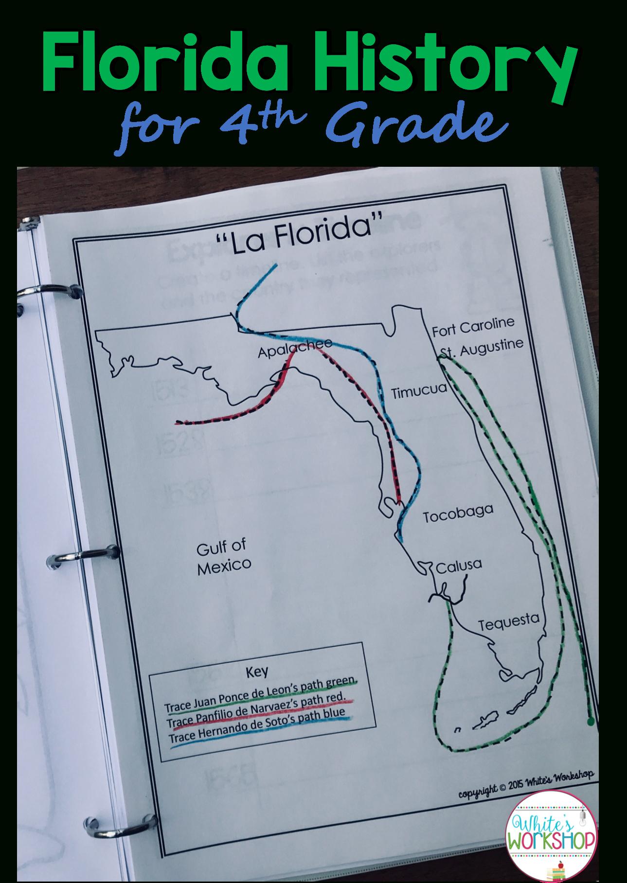 Florida History Lesson Plans 4th Grade