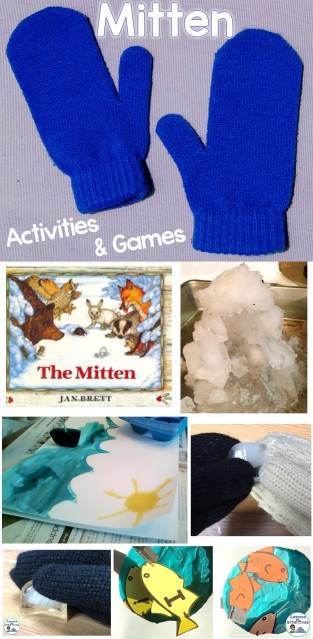 Mitten Activities & Games for the book The Mitten