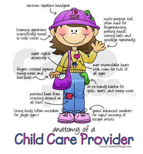 anatomy of a child care provider