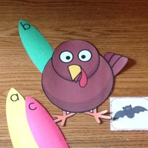 Thanksgiving turkey beginning sounds
