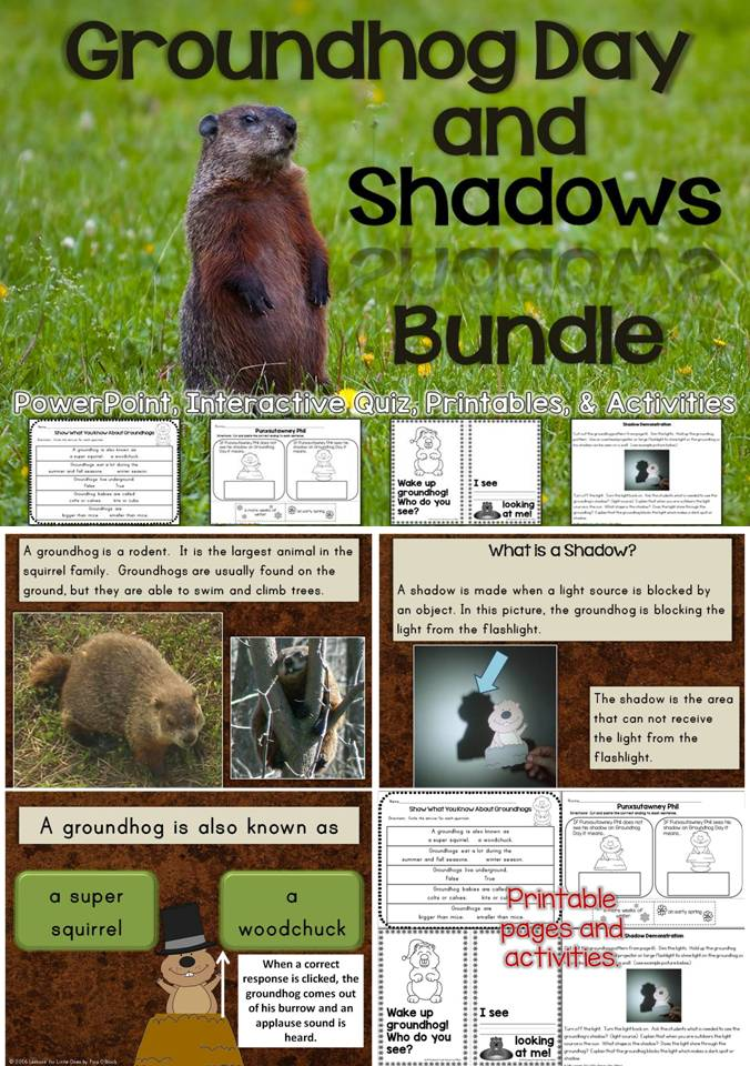 Groundhog Day and Shadows bundle