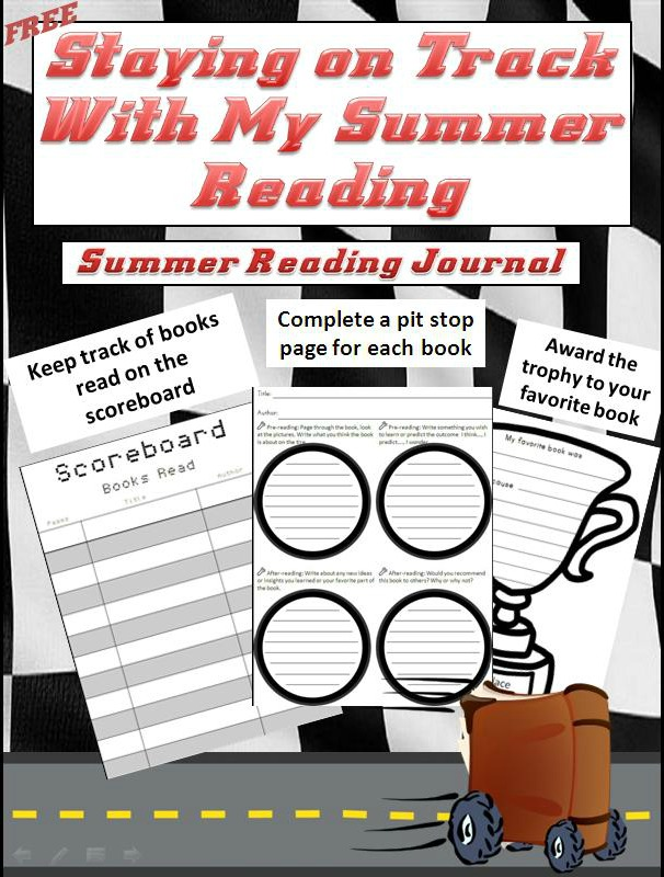 free summer reading journal racing