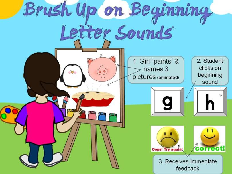 beginning sounds practice and assessment