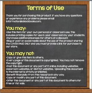terms of use O'Block Books