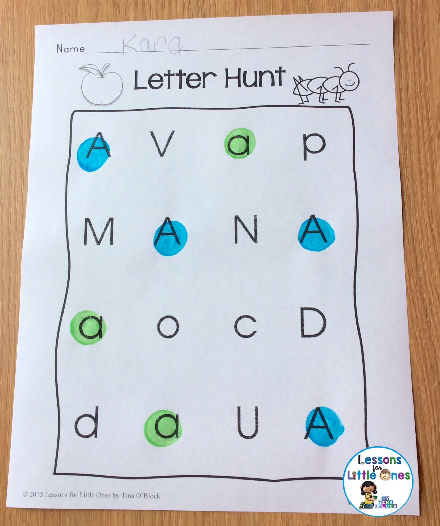 Differentiated Alphabet Amp Handwriting Practice For