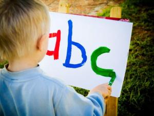 teaching the alphabet