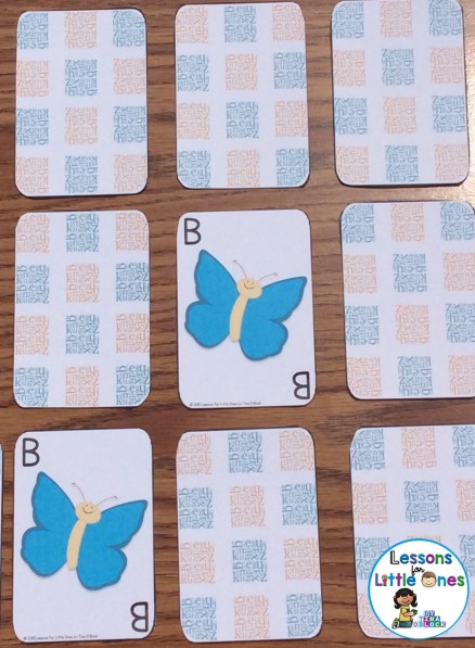 alphabet concentration game uppercase letters