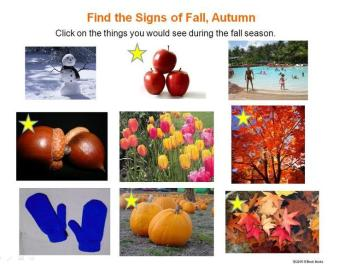 signs of the fall, autumn