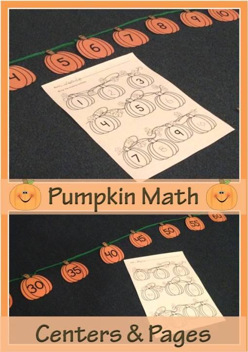 pumpkin number center
