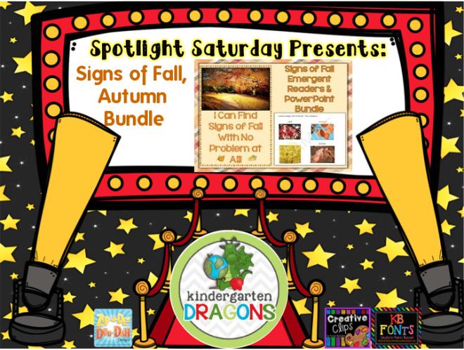 Spotlight Saturday Signs of Fall Bundle