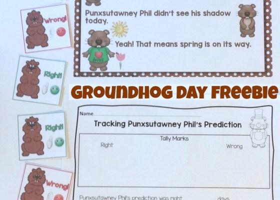 Groundhog Day Free Activity / Freebie