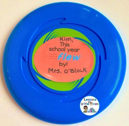 End of the school year student gift - frisbee