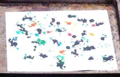 rain created art