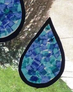 rain drop art project