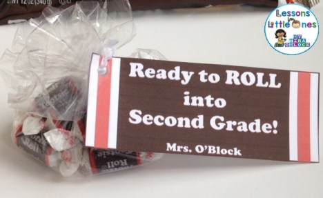 back to school student gift tag for tootsie roll