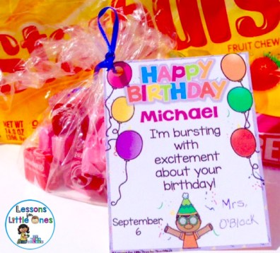 Celebrating Birthdays In The Classroom Ideas For Student Birthday