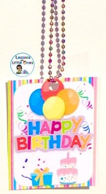 student birthday brag tag