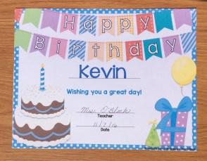 printable birthday certificate