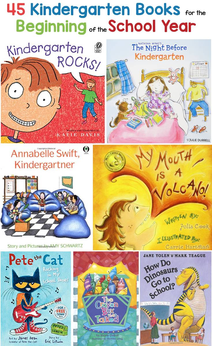 Kindergarten Books / Read Alouds for the Beginning of the School Year