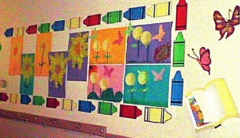early childhood classroom display