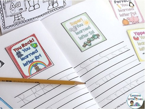 alphabet letters brag tag book