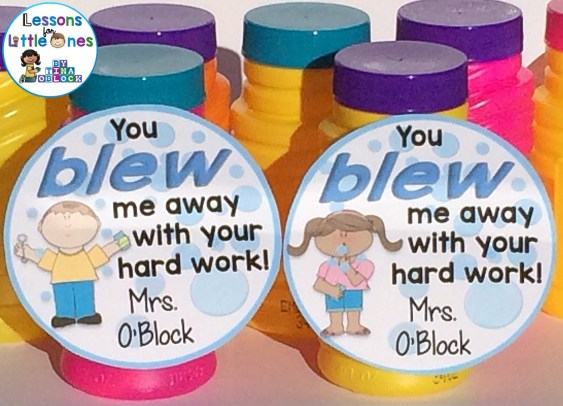 You Blew Me Away With Your Hard Work! Bubble Tags