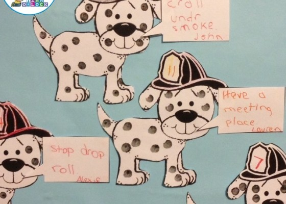 Fire Prevention Week / Fire Safety Bulletin Board