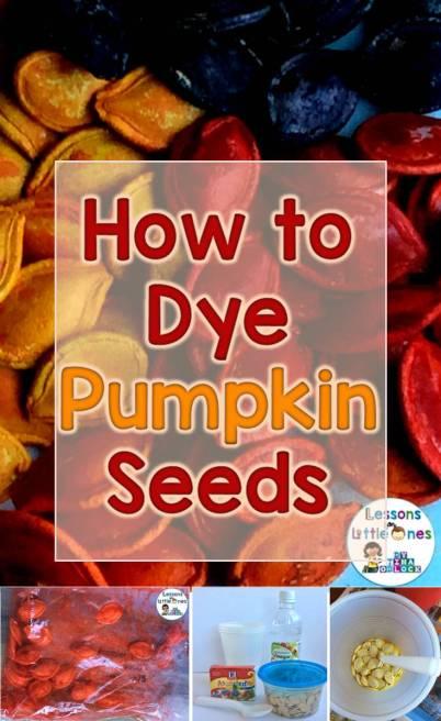 How to Dye Pumpkin Seeds