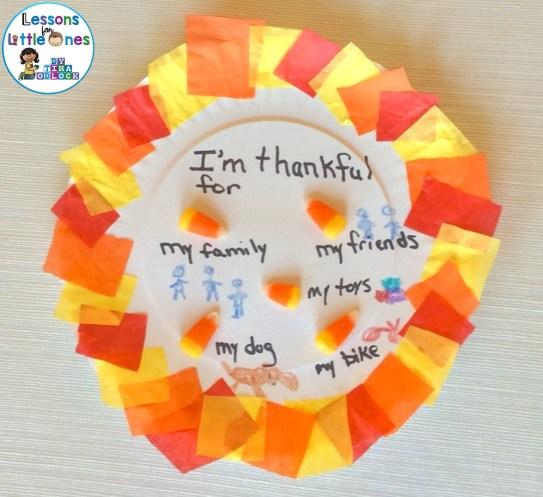 The 5 Kernels of Corn Legend Thanksgiving Craft