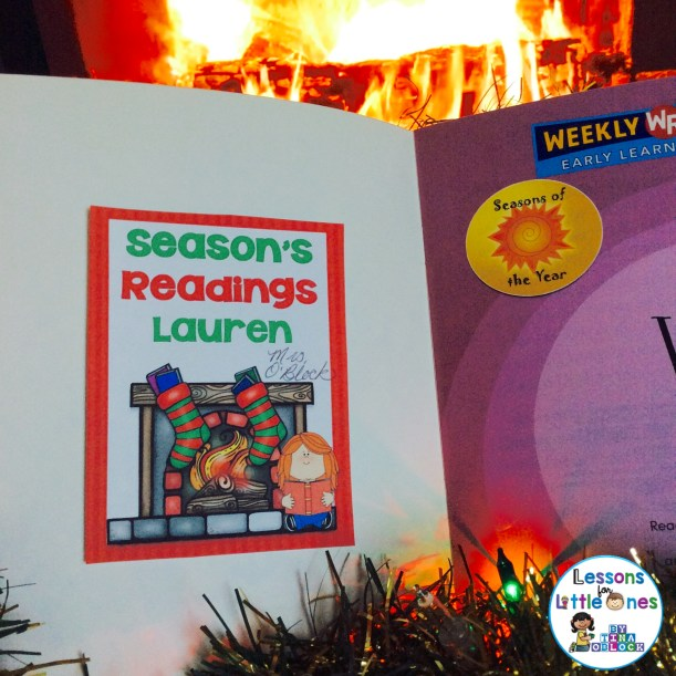 Seasons Readings Christmas student gift tag