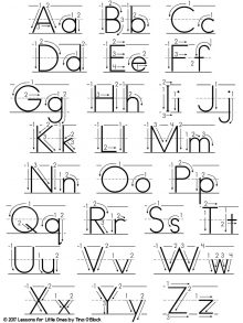 fun alphabet and handwriting practice lessons for little ones by tina o 39 block. Black Bedroom Furniture Sets. Home Design Ideas