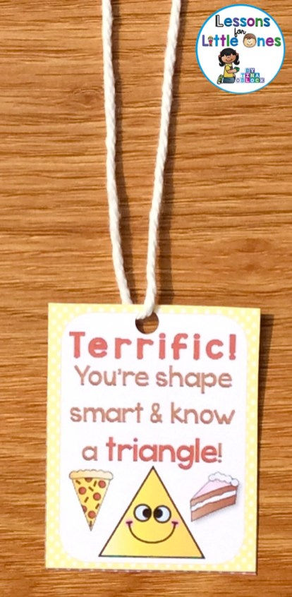shapes brag tag