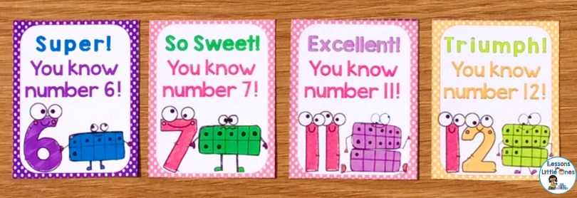 numbers brag tags