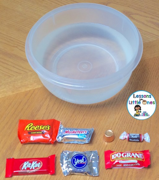 candy sink or float experiment