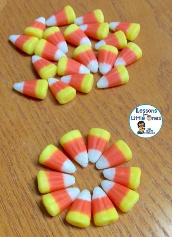 candy corn STEM challenge