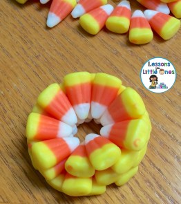 candy corn STEM stacking challenge