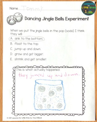 dancing jingle bells experiment page
