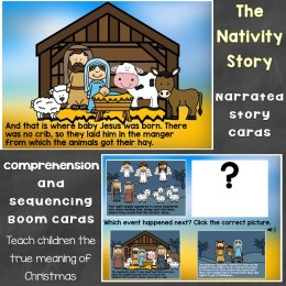 Nativity Story Boom Cards