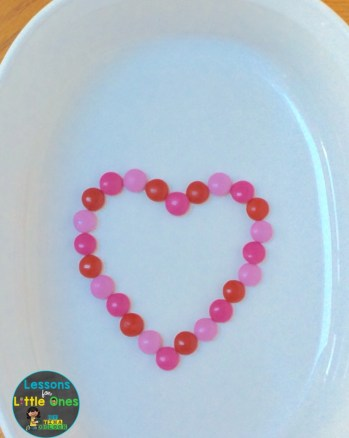 valentine candy experiment