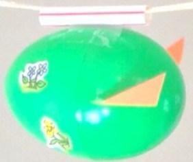 Easter egg rocket