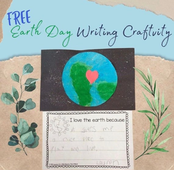 Free Earth Day Writing Craft